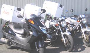 バイク便関西